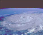 photo satelitte du cyclone georges